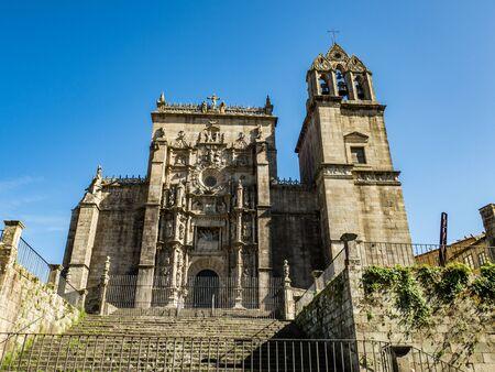 Saint Mary the Bigger, basilica in Pontevedra (Spain) 🇪🇸