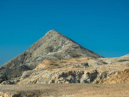 Pilon de Azucar hill in La Guajira (Colombia)