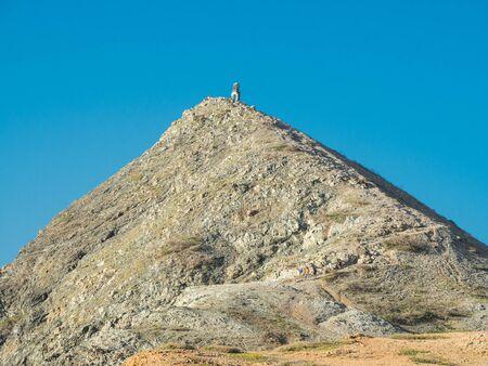 Pilon de Azucar hill in La Guajira (Colombia) Banque d'images