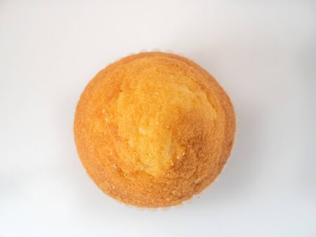 Cupcake on white background Stock fotó