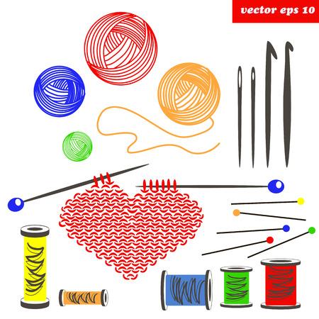knited set Illustration