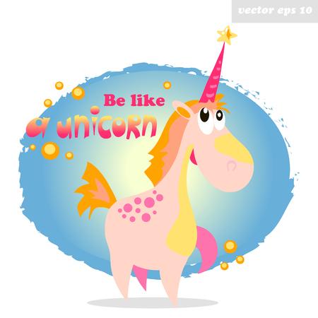 be like a unicorn