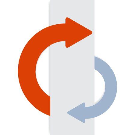 2 half-round sticky arrows