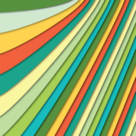 Abstract background of many colorful paper sheets