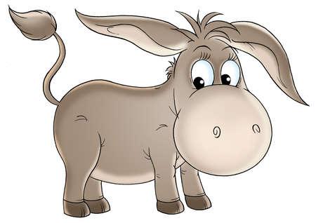 donkey: Ezel Stockfoto