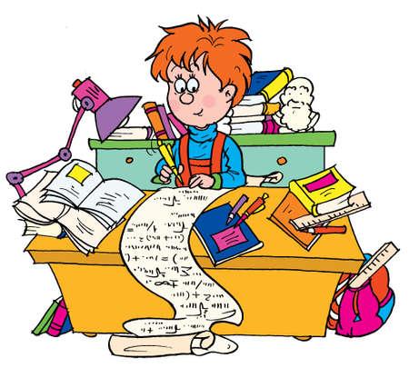 pedagogics: Examination Stock Photo