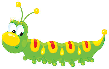 crawling: Caterpillar Illustration