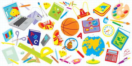 escuela primaria: Escuela de conjunto Vectores