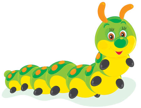 cartooning: Caterpillar Illustration