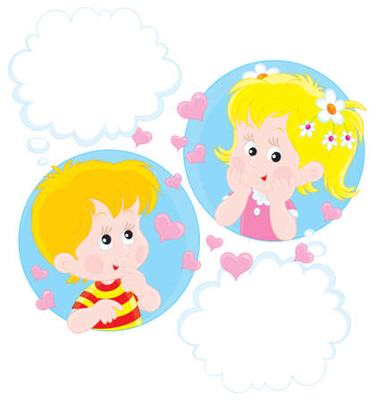 lovingly: Girl and Boy dreaming