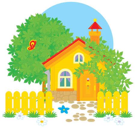 dacha: Village house