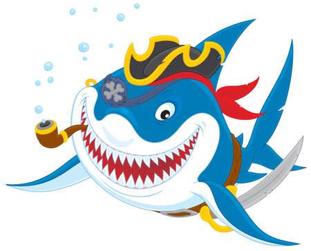 man eater: Shark pirate