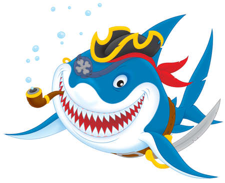 tommy: Shark pirate