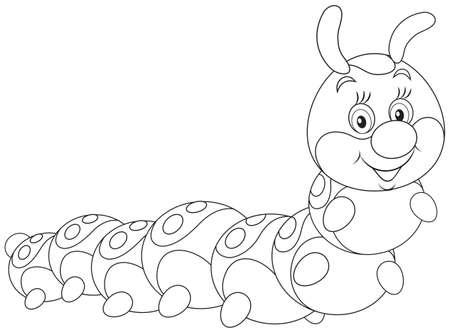 Caterpillar Illustration