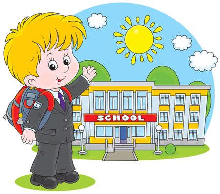Élève de l'école primaire