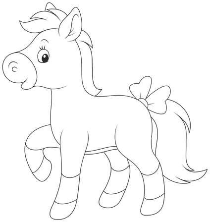 Pony Ilustração Vetorial