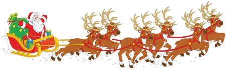 Ar van Kerstmis van de Kerstman