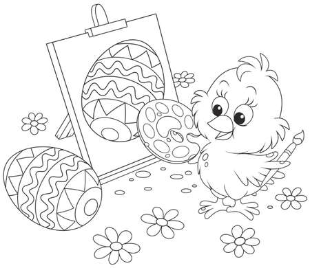 Easter Chick painter