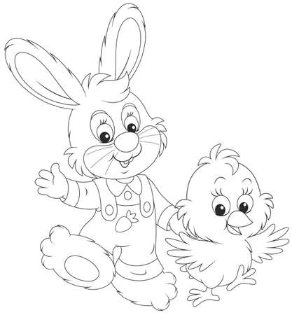 Bunny and Chick