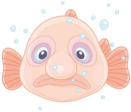 Blob fish Illustration