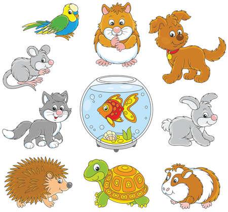 Set of pets icon.