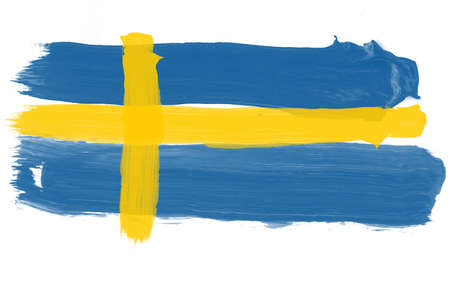 swedish: Swedish Flag Illustration