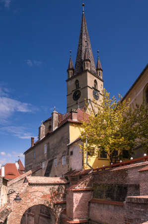 Evangelical Church in SIbiu photo