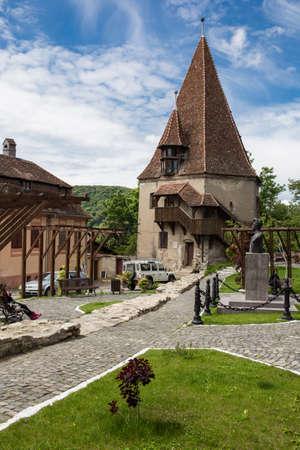 dwelling: Tower dwelling in Sighisoara