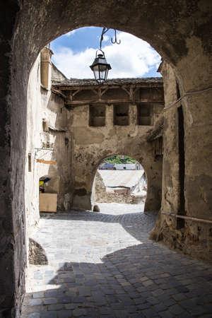passageway: Passageway in Sighisoara