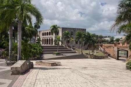 domingo: Alcazar de Colon in Santo Domingo, Caribbean