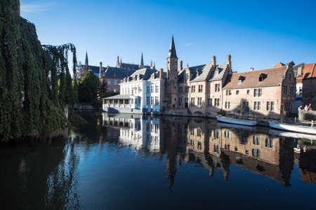 bruges: Bruges Canal Stock Photo