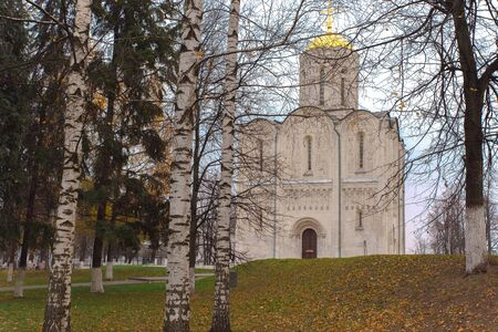 pacification: Cathedral of St. Demetrius in Vladimir