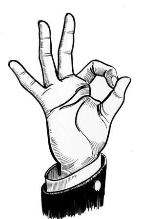 O.K. sign