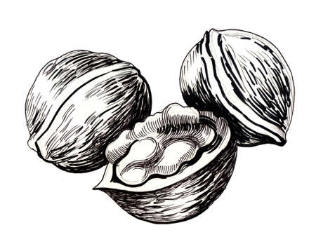 Blobs encre illustration Banque d'images - 90415117