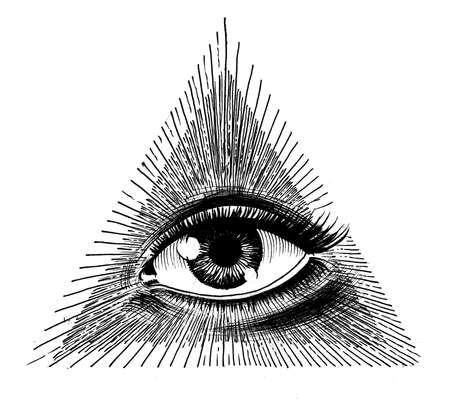 Eye of Providence Фото со стока