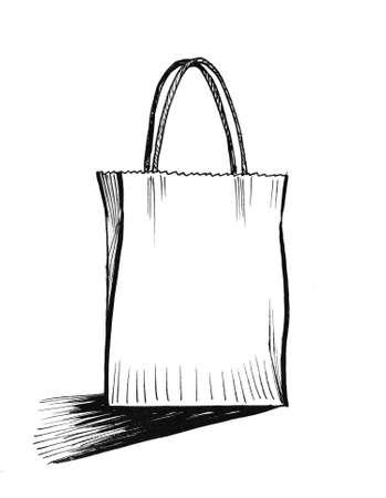 Shopping bag illustration.