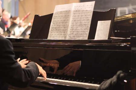 scores: Piano mirror