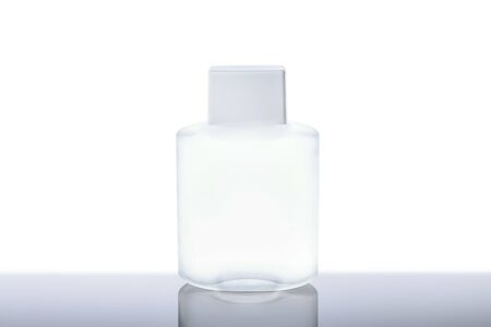 Bottle of aftershave lotion isolatet on white background