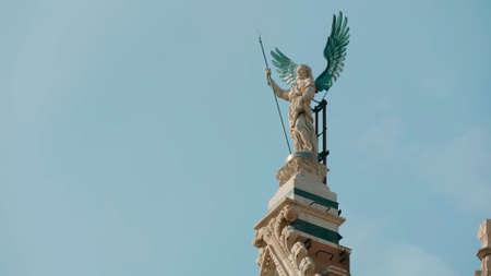 Tuscany, Italy. Monument against the sky. Standard-Bild - 143875204