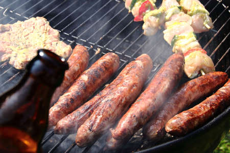 thuringian sausage and beer what a dream