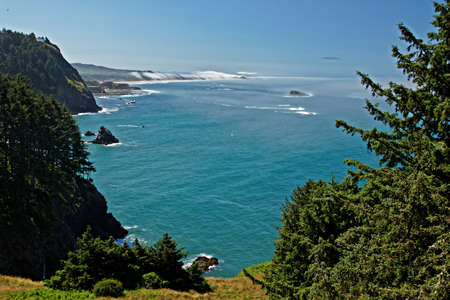 Oregon Coast view to Otter Rock