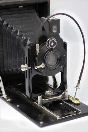 Old vintage camera from the early last century