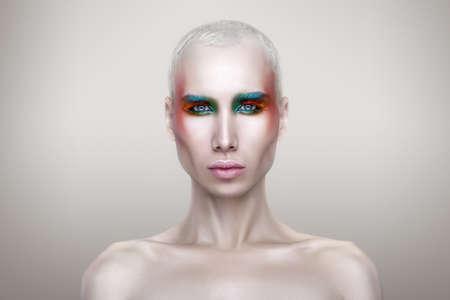 belleza masculina: blanco macho maquillaje belleza color