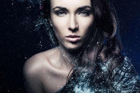 Beauty Fashion art woman portrait  photo