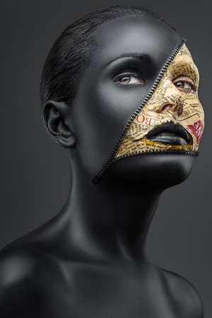 creative make-up Banque d'images