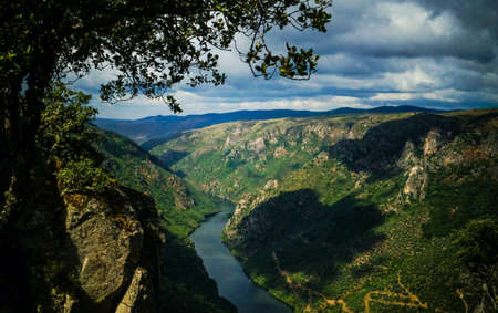 The canyon of Douro river valley National Park
