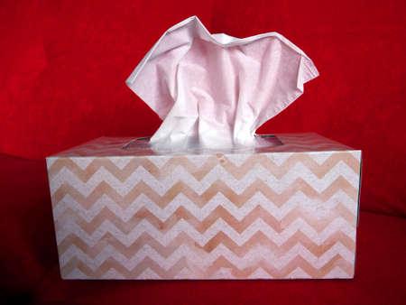 boxes of tissues Banco de Imagens