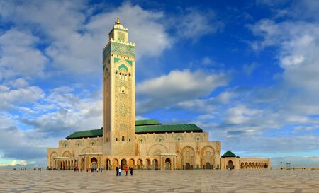Great Mosque of Hassan II, Casablanca (Morocco) Stock Photo - 12290713