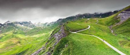 Mountain  landscape at Bernese Alps, Grindelwald  Switzerland