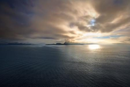 Sunrise in the Norwegian sea, Alesund Norway - Scandinavia